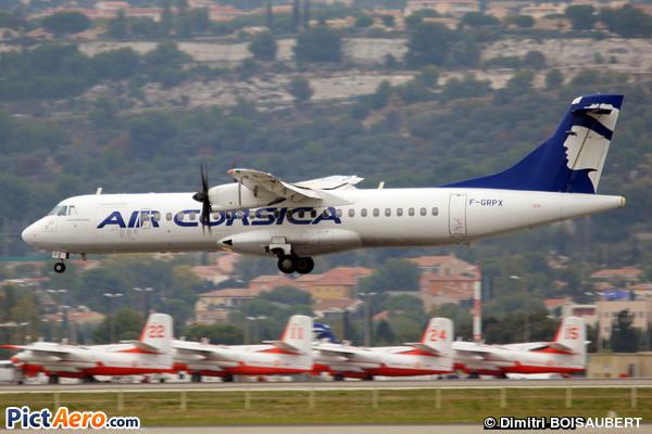 ATR 72-500 (ATR-72-212A) (Air Corsica)