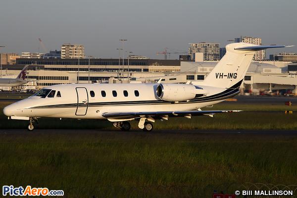 Cessna 650 Citation VII (Flight Options)