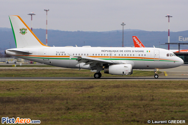 Airbus A319-133X/CJ (Ivory Coast - Air Force)