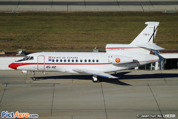 Dassault Falcon 900B (Spain - Air Force)