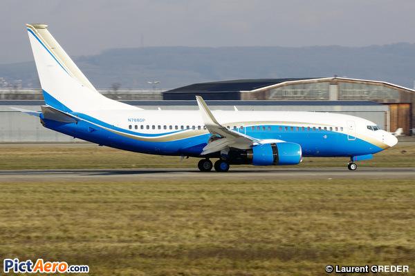 Boeing 737-79U/BBJ (Bank of Utah Trustee)