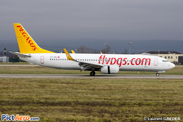 Boeing 737-86J/WL (Pegasus Airlines)