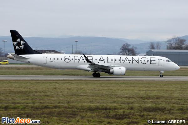 Embraer ERJ-195LR (ERJ-190-200LR) (Air Dolomiti)