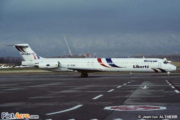 McDonnell Douglas MD-83 (DC-9-83) (Air Liberté)