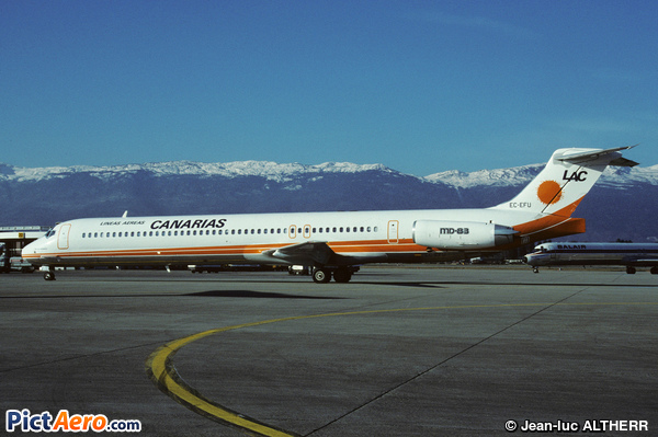 McDonnell Douglas MD-83 (DC-9-83) (Lineas Aereas Canarias)