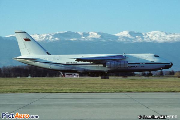 Antonov An-124-100 Ruslan (Aeroflot)