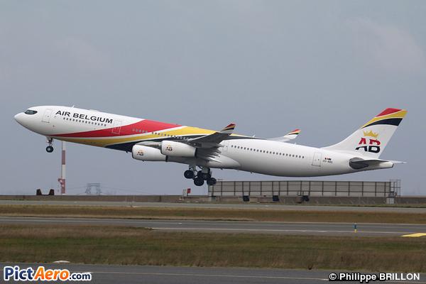 Airbus A340-313E (Air Belgium)