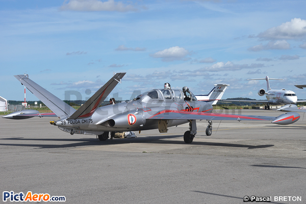 Fouga CM-175 Zephyr (DREYER Alain - FRANCESCHI Paul - JOSA Raymond)