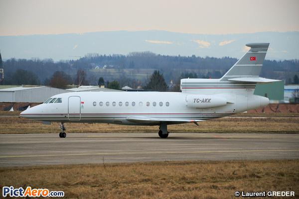 Dassault Falcon 900B (AK Havacilik ve Ulastirma Hizmetleri AS)