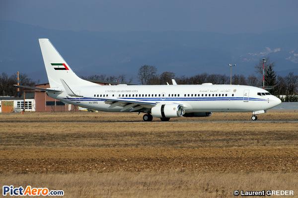 Boeing 737-8E0/BBJ2 (United Arab Emirates - Dubai Air Wing)
