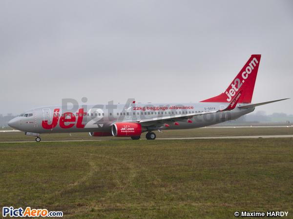 Boeing 737-8Z9/WL  (Jet2.com)