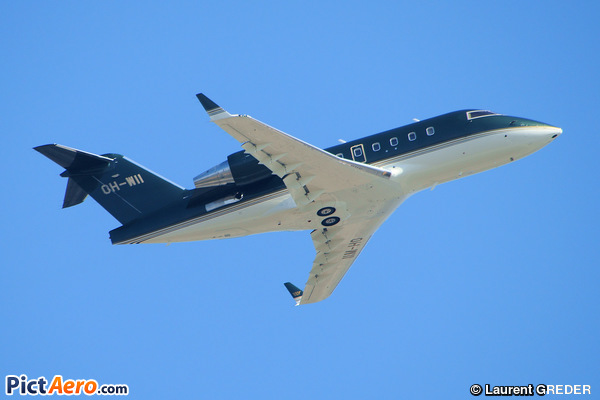 Canadair CL-600-2B16 Challenger 604 (Jetflile OY. Helsinki)