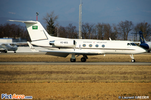 Gulfstream Aerospace G-1159A Gulfstream G-III (Saudi Armed Forces Medical Service)