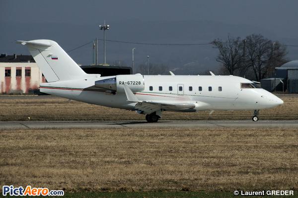Canadair CL-600-2B16 Challenger 604 (Aeroservis)
