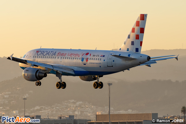 Airbus A319-112 (Croatia Airlines)