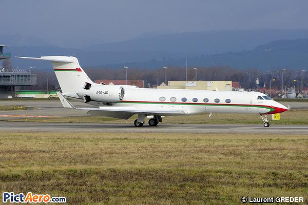 Gulfstream Aerospace G-550 (G-V-SP) (Oman - Royal Flight)