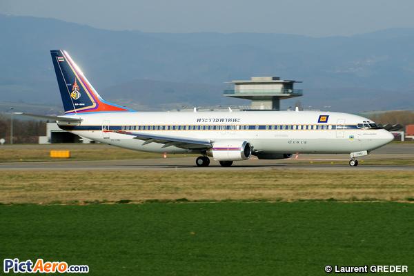 Boeing 737-4Z6 (Thailand - Air Force)