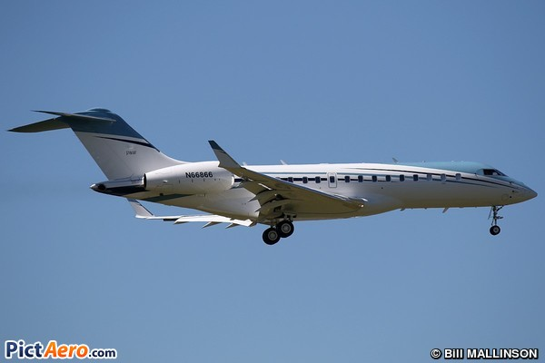 Bombardier BD-700-1A10 Global 6000 (Private)