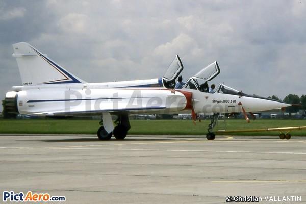 Dassault Mirage 2000B (Armée de l'Air)