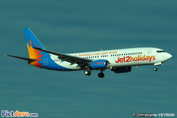 Boeing 737-8K5/WL (Jet2.com)
