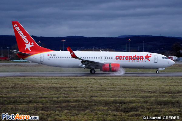 Boeing 738-8SH/WL (Corendon Airlines)