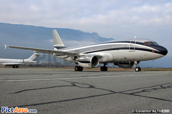 Airbus A319-115X/CJ (Global Jet Luxembourg)