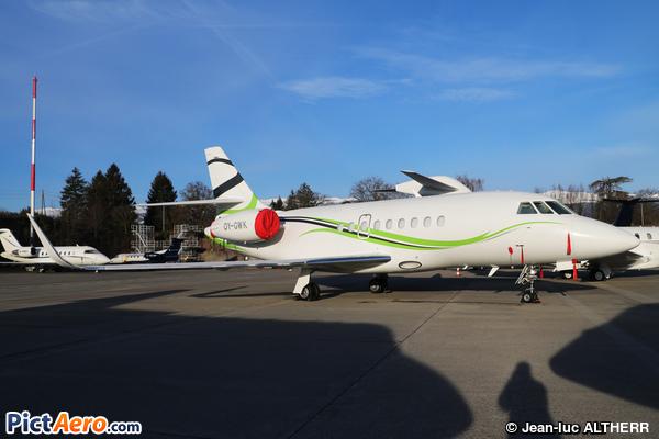 Dassault Falcon 2000S (AIR ALSIE)