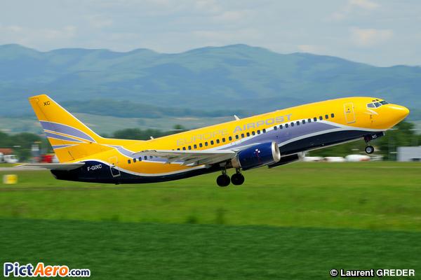 Boeing 737-38D/QC (Europe Airpost)