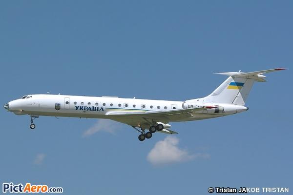 Tupolev Tu-134A-3 (Ukraine - Government)