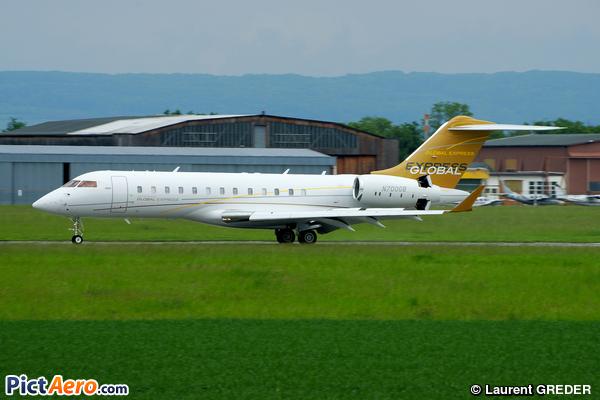 Bombardier BD-700-1A10 Global Express (Privé )