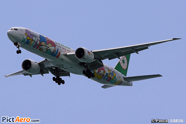 Boeing 777-36N/ER (Eva Air)