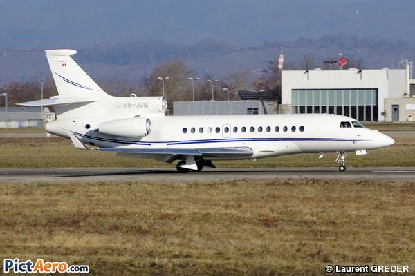 Dassault Falcon 7X (Jet Aviation Business Jets AG)