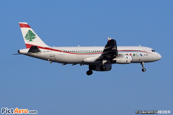 Airbus A320-232 (Middle East Airlines (MEA))