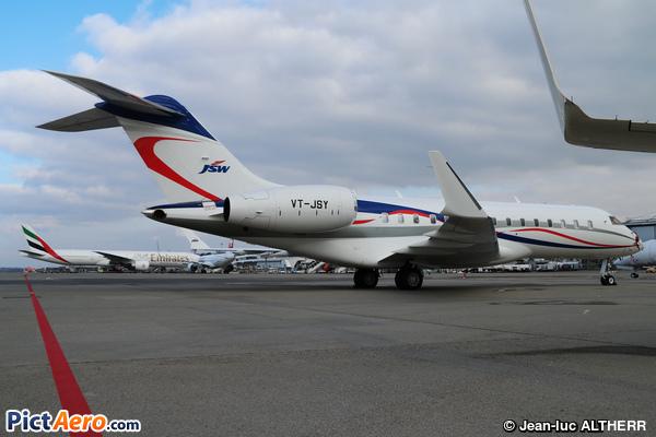 Bombardier BD-700-1A10 Global 6000 (Jindal Iron & Steel Co. Ltd)