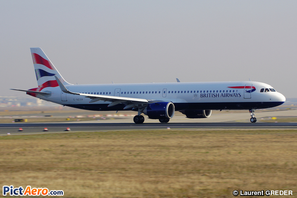 Airbus A321-251NX (British Airways)