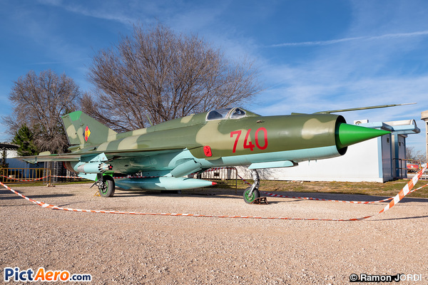 Mikoyan-Gurevich MiG-21PFM Fishbed F (German Democratic Republic Air Force)