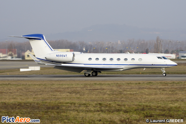 Gulfstream G650ER (Qualcomm Inc)