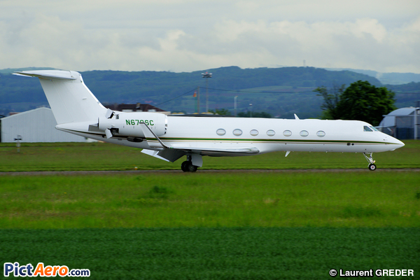 Gulfstream G550 (Harrow Enterprises LLC, New York NY)