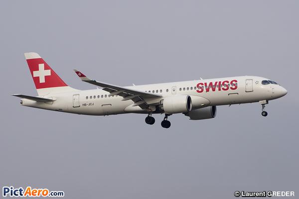 Bombardier CSeries CS300 (BD-500-1A11) (Swiss International Air Lines)