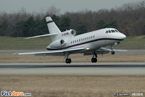 Dassault Falcon 900B (Jet Aviation Business Jets)