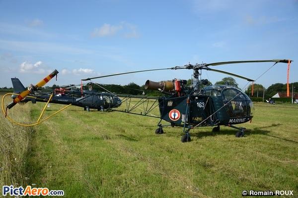 Aerospatiale SA-313B Alouette ll (Association Les Anciennes Pales)