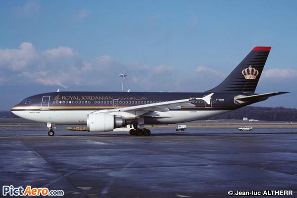 Airbus A310-304(F) (Royal Jordanian)