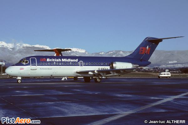 McDonnell Douglas DC-9-15 (bmi - British Midland Airways)