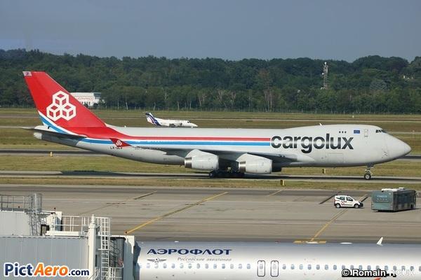 Boeing 747-4R7F/SCD (Cargolux Airlines International)