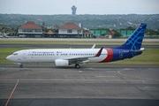 Boeing 737-86N/WL (PK-CRF)