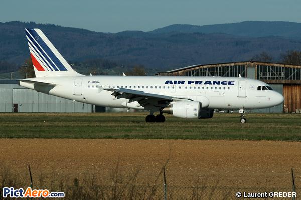 Airbus A319-113 (Air France)
