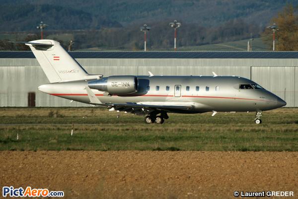 Canadair CL-600-2B16 Challenger 605 (VistaJet)