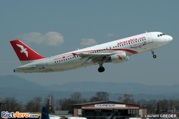 Airbus A320-214 (Air Arabia Maroc)