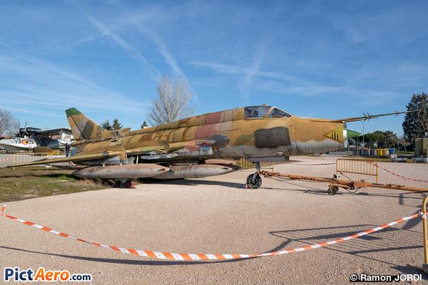 Sukhoi Su-22M4 Fitter K (Museo del aire)