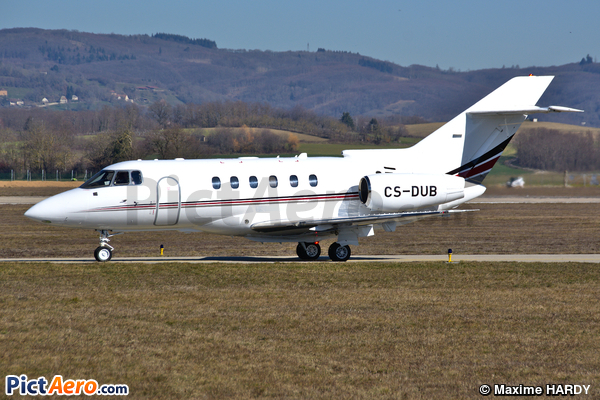 Raytheon Hawker 750 (NetJets Aviation)